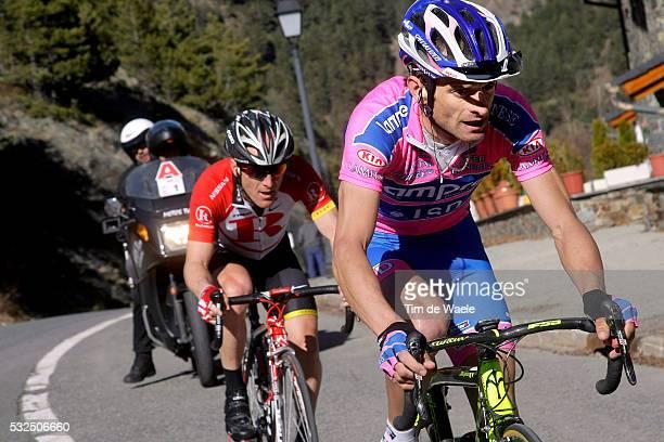 Volta Ciclista a Catalunya 2011 / Stage 3 Michele SCARPONI / Levi LEIPHEIMER / La Vall d'En Bas - Andorra-Vallnord / Rit Etape /Tim De Waele