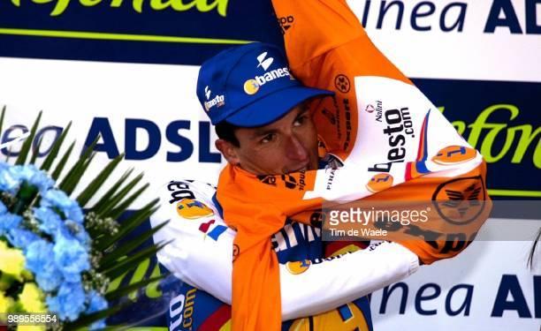 Cycling Vuelta2001 Stage11 Alp Estacio De Pal JimenezJoseMaria