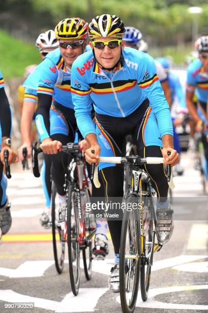 Wc Mendrisio, Training Maxime Monfort / Team Equipe Ploeg, Belgique Belgie Belgium, World Championship/ Championat Du Monde, Wereldkampioenschap, Wk...