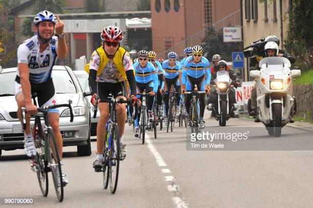 Wc Mendrisio, Training Philippe Gilbert / Maxime Monfort / Tom Boonen , Kevin De Weert / Nick Nuyens / Bert De Waele /Francis De Greef , Team Equipe...