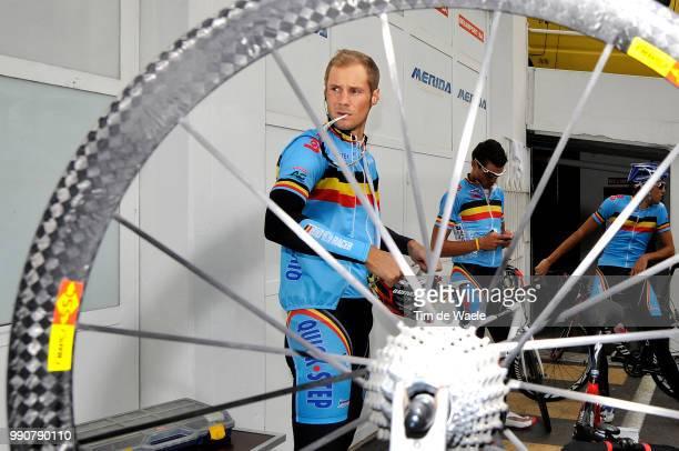 Wc Mendrisio, Training Tom Boonen / Belgium Belgique Belgie, Team Equipe Ploeg /World Championship/ Championat Du Monde, Wereldkampioenschap, Wk Wc,...