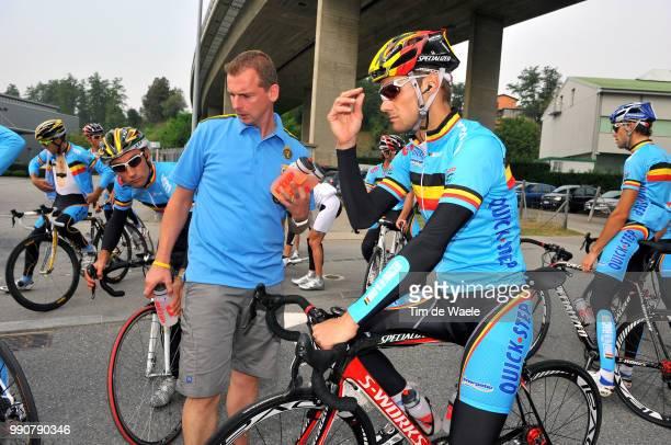 Wc Mendrisio, Training Tom Boonen , Kurt Roose Mecanic Makanieker, World Championship/ Championat Du Monde, Wereldkampioenschap, Wk Wc, Uci, Tim De...