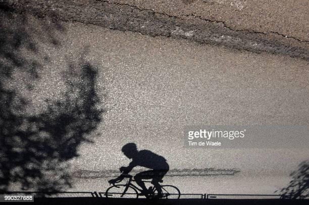Wc Road Stuttgart, Men Eliteillustration Illustratie, Silhouet Shadow Hombre Schaduw /Uci Road World Championships, Championat Du Monde Route,...