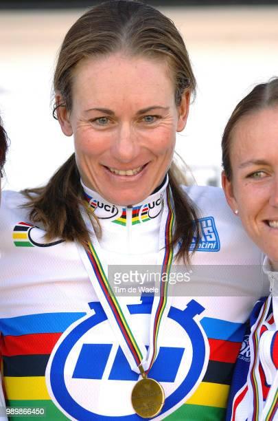 Wc Road, Time Trial Women Elitepodium, Thãœrig Karin Gold Medal Contre La Montre Femmes Elite, Tijdrit Elite Vrouwenworld Championships Road,...