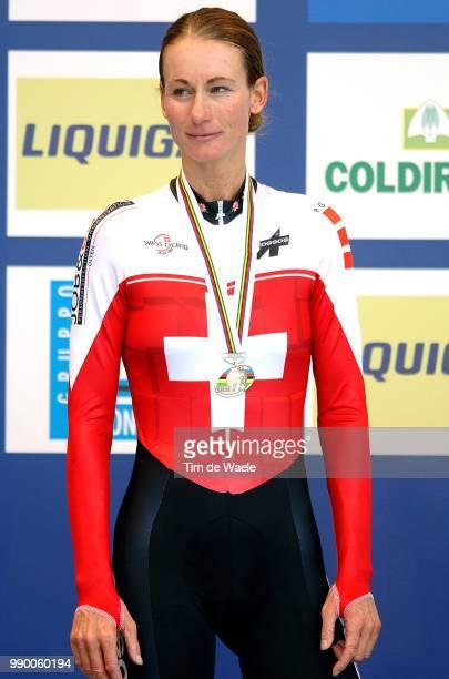 Wc Salzburg, Elite Womenpodium, Thãœrig Karin , Celebration Joie Vreugderoad World Championships, Championat Du Monde Route, Wereldkampioenschap Weg,...