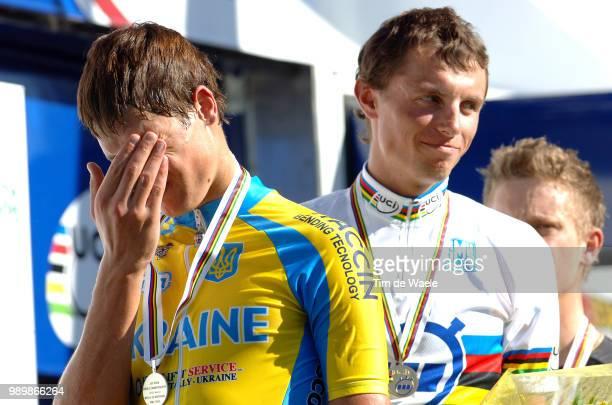 Wc, Time Trial Men - 23Podium, Grabovskyy Dmytro Silver Medal Deception Teleurstelling, Ignatiev Mikhail Gold Medal, Latham Peter Bronze Medalcontre...