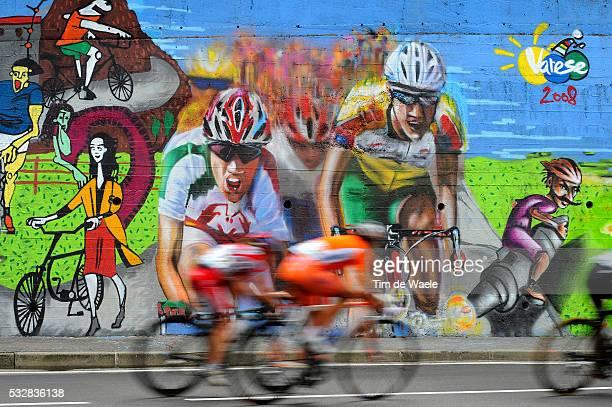 Varese / Road Race Elite Women Illustration Illustratie / Peleton Peloton / Graffiti Grafiti Painting / Varese / Women Femmes / World Championships /...