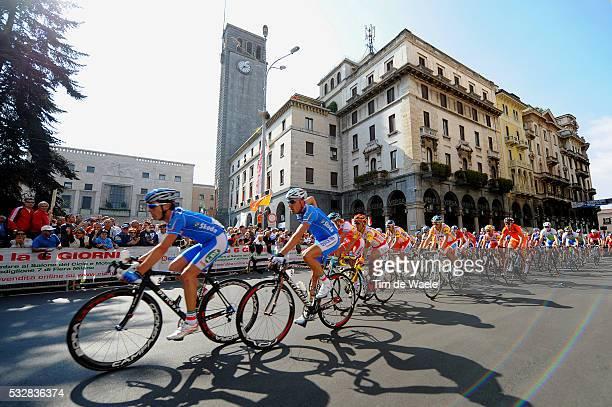 Varese / Road Race Men Elite Illustration Illustratie / Peleton Peloton / Varese City Ville Stad / Landscape Paysage Landschap / Men Hommes Mannen /...