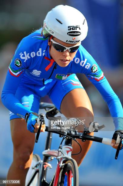 Wc Varese, Time Trial Women Eliteelena Berlato /Contre La Montre Femmes Elite, Tijdrit Vrouwen Elite, World Championships, Championat Du Monde,...