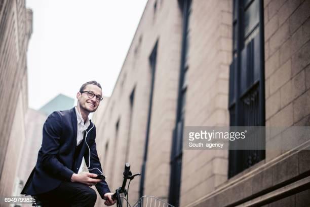 Radfahren mit Musik