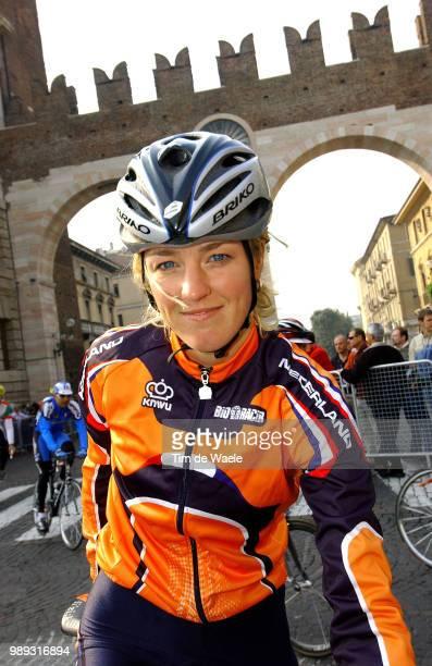 World Champ. Verona 2004 Beltman Chantal Road Race Training Entrainementworld Championships Championat Du Monde Wereldkampioenschap