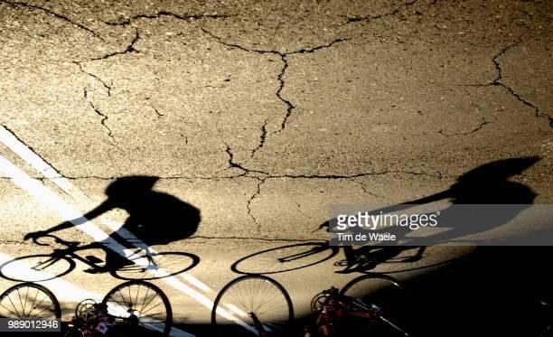 World Road Championships 2003, Illustration Illustratie, Shadow Hombre Schaduw, Course En Ligne Elite Femmes /Individual Road Elite Women, Wegrit...