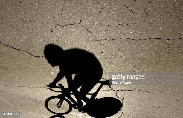 World Road Championships 2003 Illustration Illustratie Shadow Hombres Schaduw Fothen Marcus Contre La Montre Hommes 23 Ans Time Trial Men Under 23...