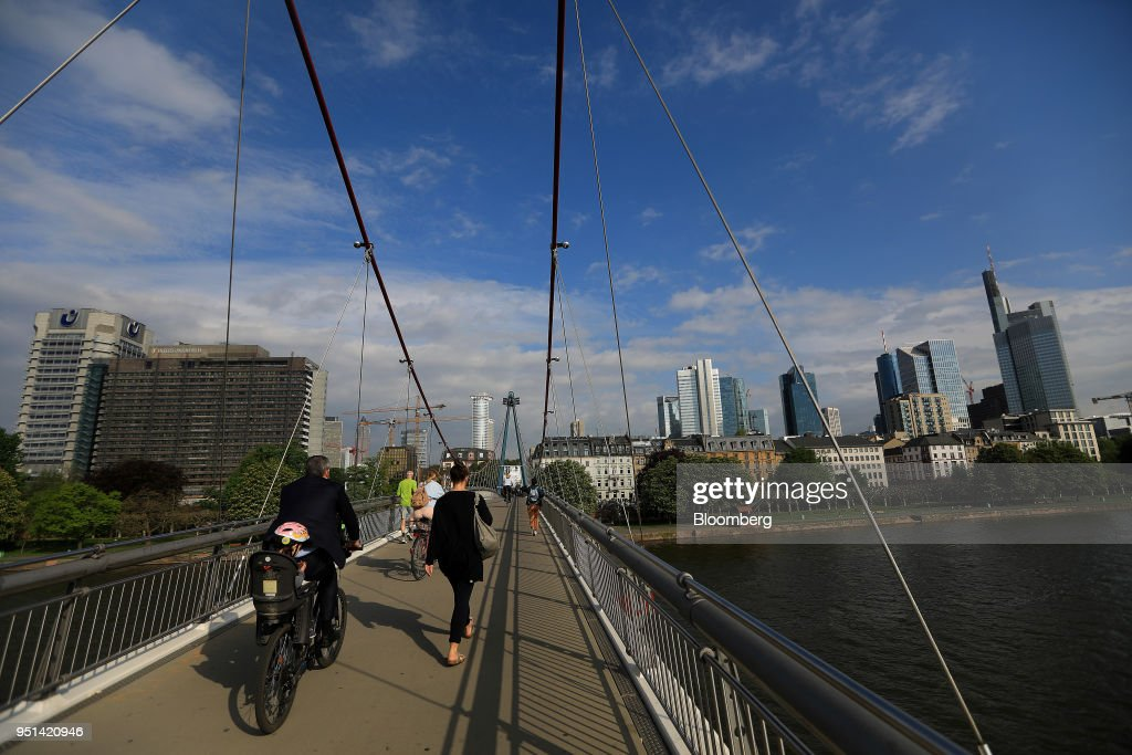 Frankfurt's Financial District As Brexit Prompts Move For 18 Banks
