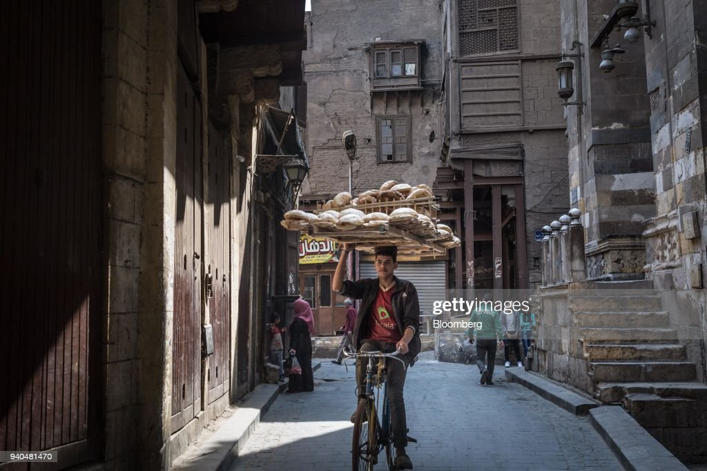 General Economy And Political Posters Ahead Of Egypt Election : News Photo