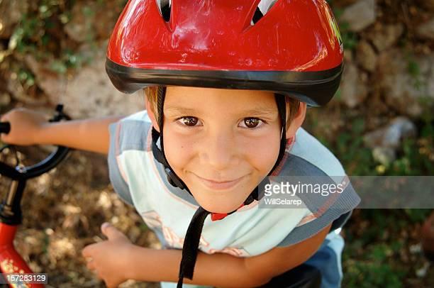 Cyclist boy