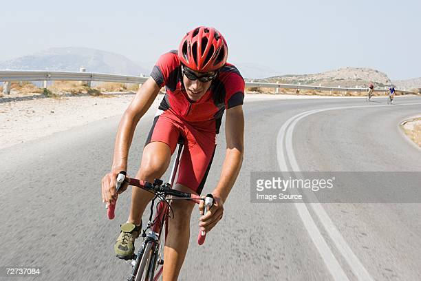 cyclist in race - sports race stock pictures, royalty-free photos & images