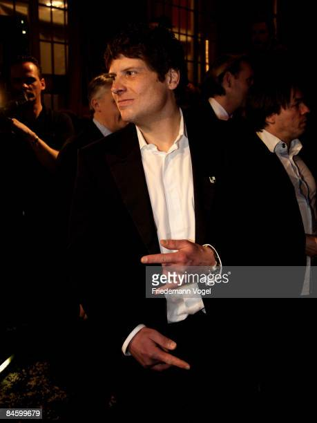 Cyclist Jan Ullrich attends the Lambertz Monday Night Schoko Fashion at the Alten Wartesaal on February 3 2009 in Cologne Germany