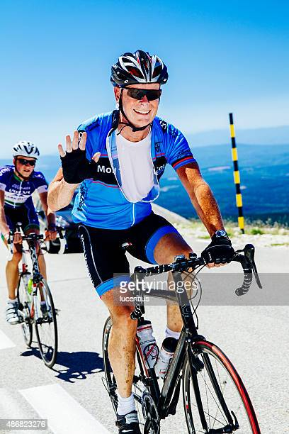 Cyclist, male, Mont Ventoux