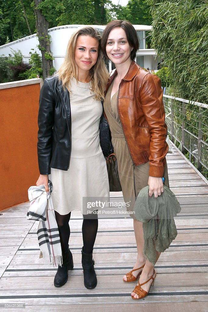 Celebrities at French Open 2016 - Day Five