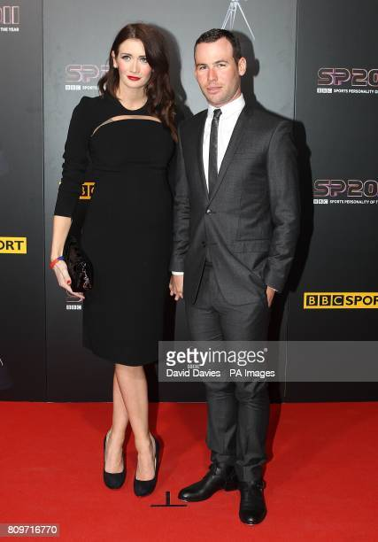 Cyclist Mark Cavendish And Friend Peta Todd Arriving For The Sports Personality Of Year Awards