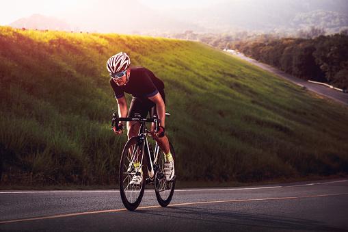 Cyclist 861520882