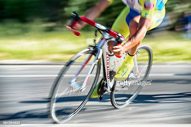 cyclist race - handlebar stock photos and pictures