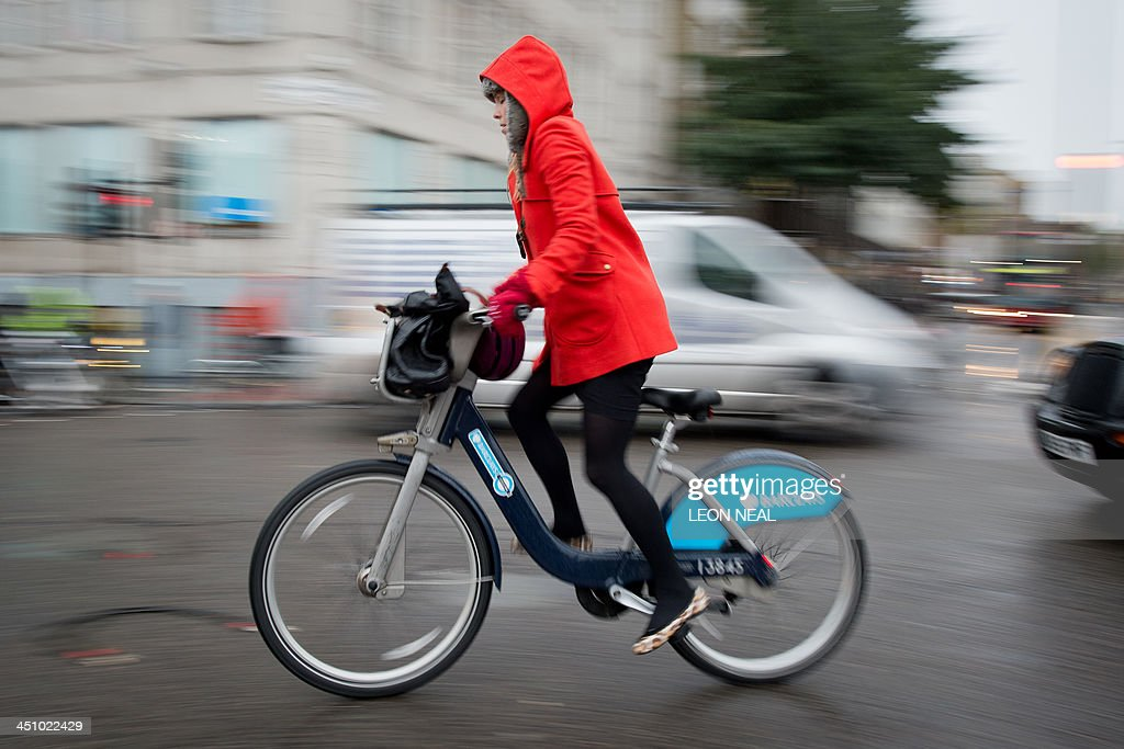 BRITAIN-TRANSPORT-CYCLING-ACCIDENT : News Photo