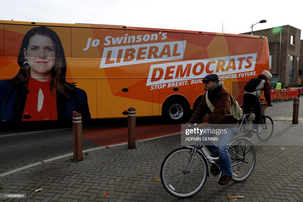 BRITAIN-EU-POLITICS-BREXIT-VOTE-LIB DEMS : News Photo