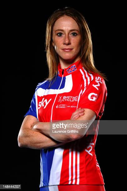 Cyclist Wendy Houvenaghel of Great Britain poses for a portrait session on July 15 2011 in Manchester England