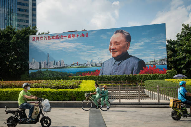 CHN: Imagery of Deng Xiaoping as 'Xi Thought' Cements Party Influence After Deng's Legacy of Reform
