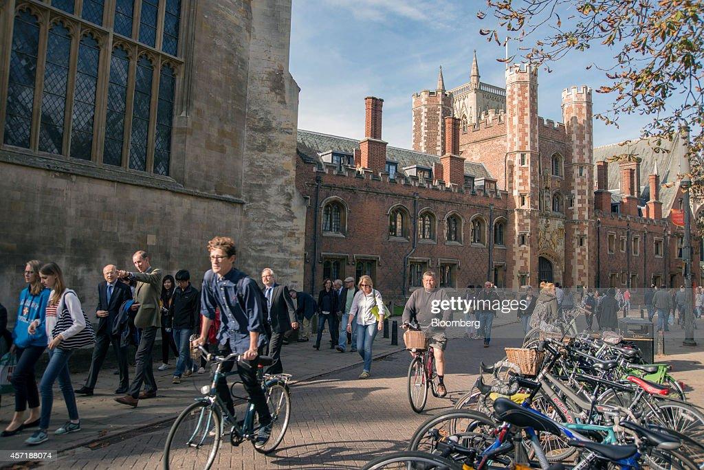 University Of Cambridge : News Photo