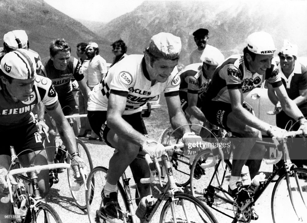 (from L) Cyclists Belgian Lucien Van Imp : News Photo