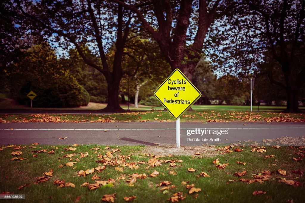 Cyclists beware : Stock Photo