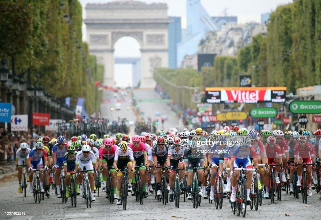 Tour de France 2018 - Final Stage : Nachrichtenfoto