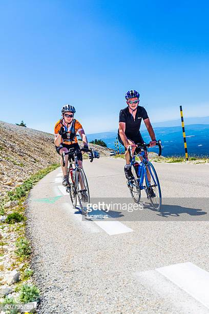 Cyclists, Mont Ventoux France