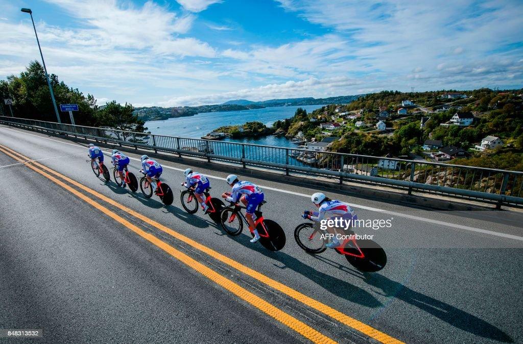 CYCLING-NORWAY-ROAD-WORLD : News Photo