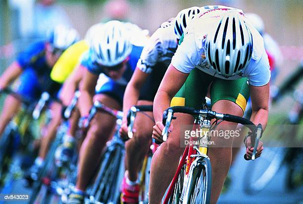 cyclists - sports race stock pictures, royalty-free photos & images