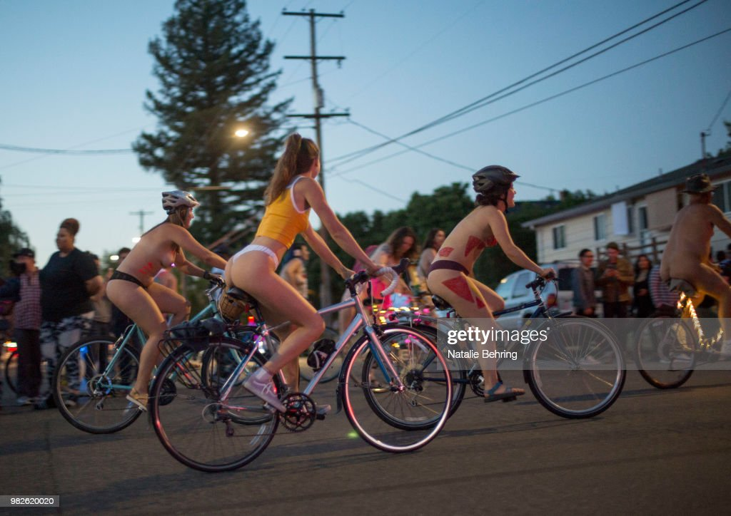 Cyclists Take Part In The Annual World Naked Bike Ride -3017