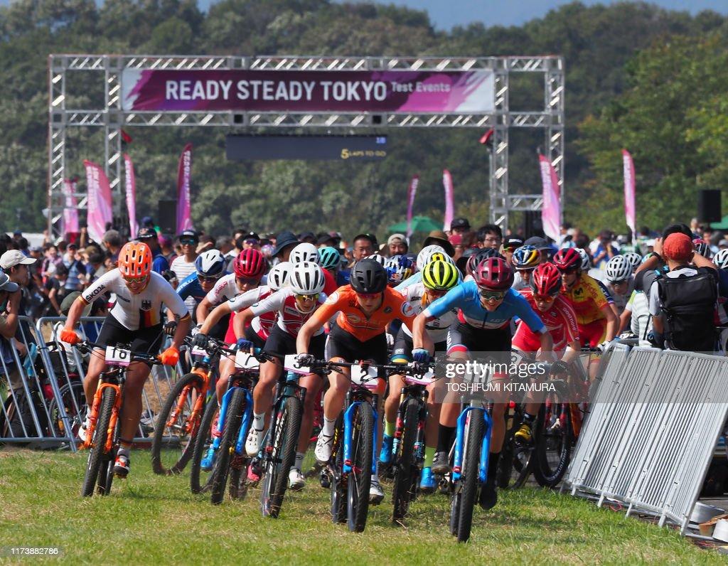 OLY-2020-TOKYO-MOUNTAIN BIKING : News Photo