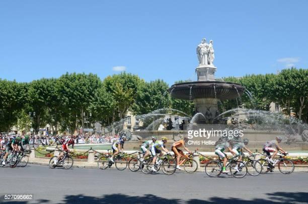 Cyclists Tour de France Aix-en-Provence