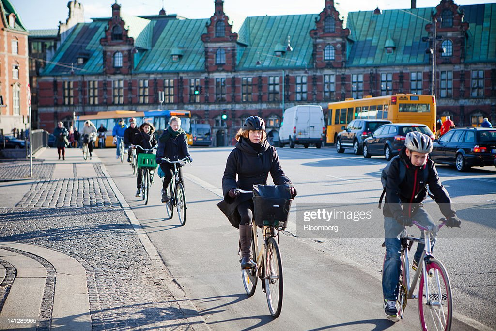 General Images on Denmark's Economy : News Photo