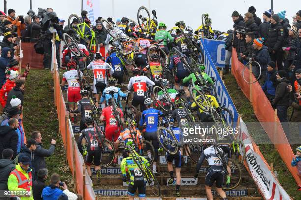 13th WC Nommay Landscape / Peloton / World Cup /