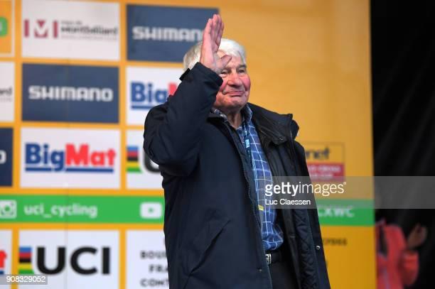13th WC Nommay Podium / Raymond POULIDOR Celebration / World Cup /
