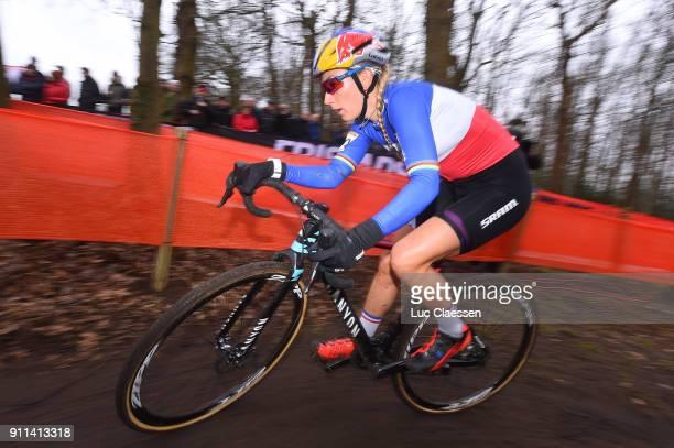 30th WC GP Adrie Van der Poel Hoogerheide 2018 / Women Pauline FERRANDPREVOT Women / World Cup /