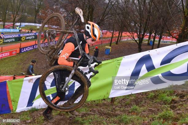 69th World Championships Valkenburg / Training Mathieu VAN DER POEL World Championships /