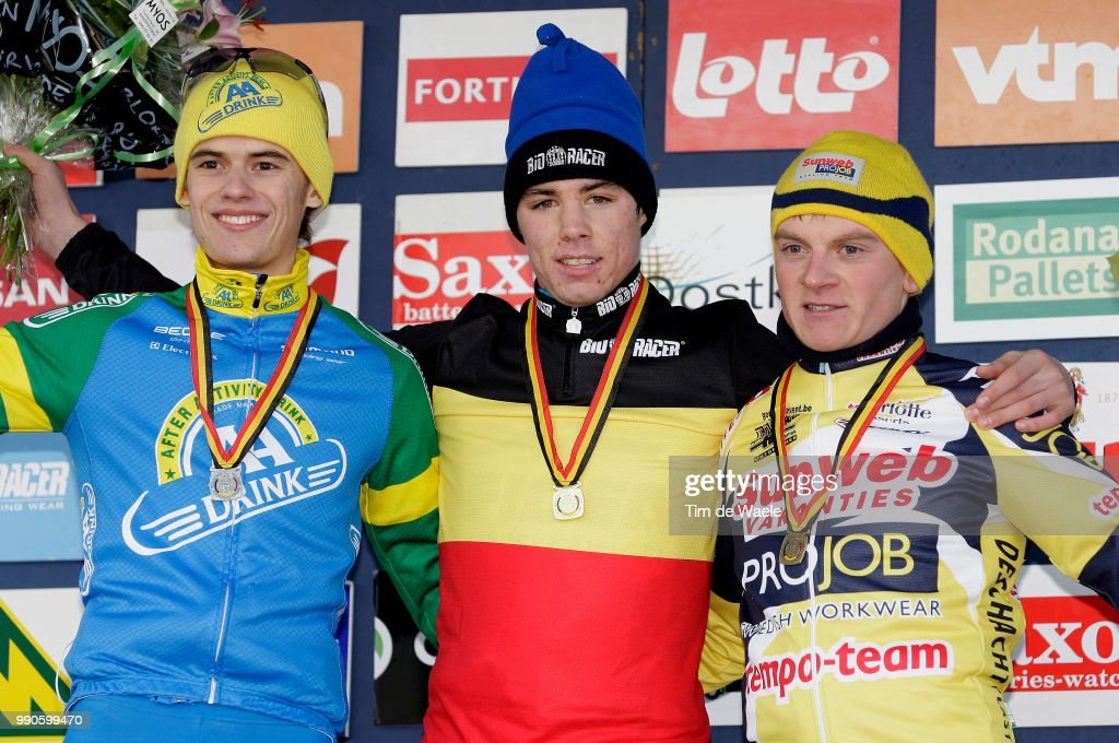 Cyclocross : belgian championship u23 pictures getty images