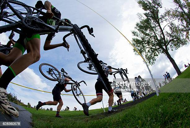 cyclo-cross bicycle race - cycling event stock pictures, royalty-free photos & images