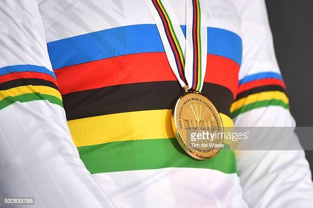 World Championships 2016 / Women Under 23 / Illustration Illustratie Podium Medal Medaille / Wereldkampioenschap / Tim De Waele