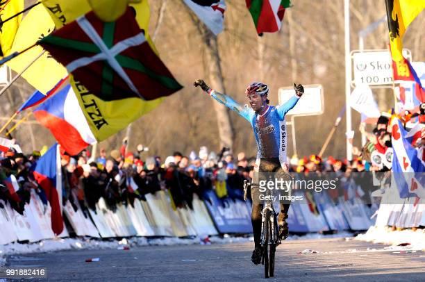 World Championships Elite Menarrival Stybar Zdenek Celebration Joie Vreugde /Championat Du Monde Wereldkampioenschap Hommes Mannen Wc Tim De Waele